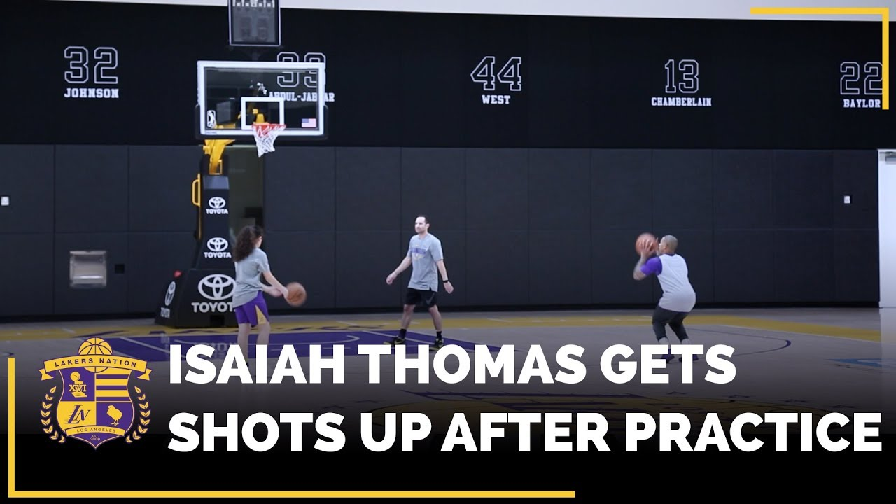 your-first-look-at-isaiah-thomas-getting-shots-up-in-the-lakers-practice-facility
