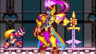 Mega Man Zero 3 (GBA) All Bosses (No Damage)