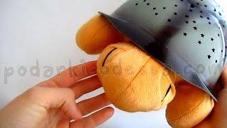 Музыкальная черепаха ночник проектор звездного неба (Видео обзор) podarki-odessa.com