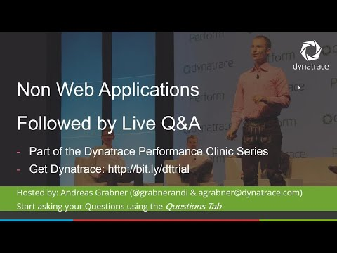 Online Perf Clinic – Analyzing Non Web Applications