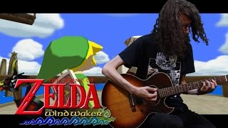 Wind Waker Dragon Roost Island Theme - Acoustic / Metal Cover || ToxicxEternity