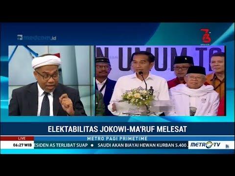 Survei Terbaru : Elektabilitas Jokowi-Ma'ruf Melesat