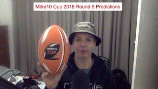 Mitre10 Cup 2018 Round 6 Predictions