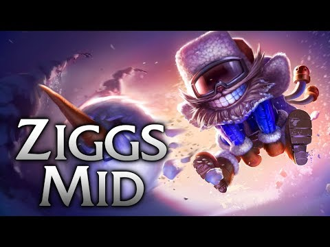 Snow Day Ziggs Mid - League of Legends Commentary