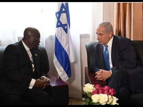 Israel ask Ghana to back it's bid for a seat at the African Union