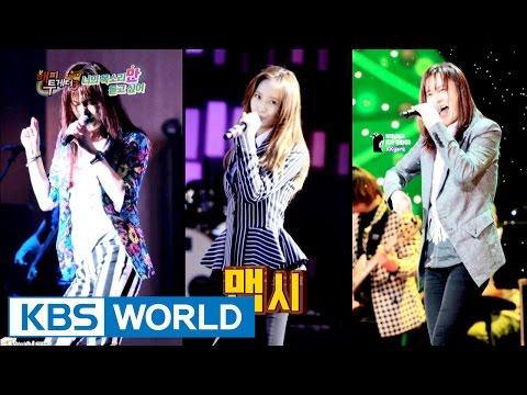 Kim Kyung-ho VS f(x) Krystal, who's real? [Happy Together / 2016.11.03]