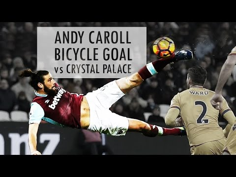 ᴴᴰ Andy Carroll Bicycle Goal vs Crystal Palace - EPL Matchweek 21 - 14.01.2017