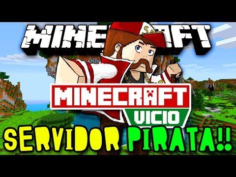 MINECRAFT VICIO - SERVIDOR PIRATA E ORIGINAL! - MINECRAFT 1.7 ATÉ 1.7.5!!