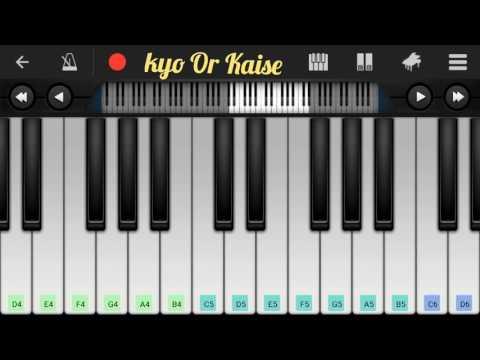 Soniye Hiriye (Shael) Easy Full Piano Notes   Punjabi Song Piano Tutorials   By Dev
