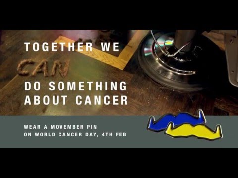 World Cancer Day Feb 4th 2016 Pins (Hairy situation)