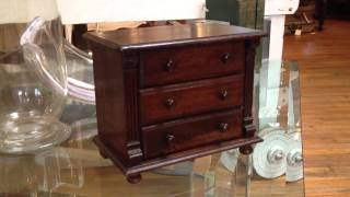 English Salesman Sample Chest Of Drawers - Heather Cook Antiques