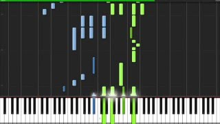 Repeat youtube video Howl's Moving Castle Theme for Solo Piano Tutorial