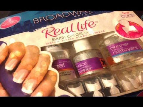 Diy super easy gel nails broadway nails real life brush on gel nail diy super easy gel nails broadway nails real life brush on gel nail kit review no uv light needed solutioingenieria Images