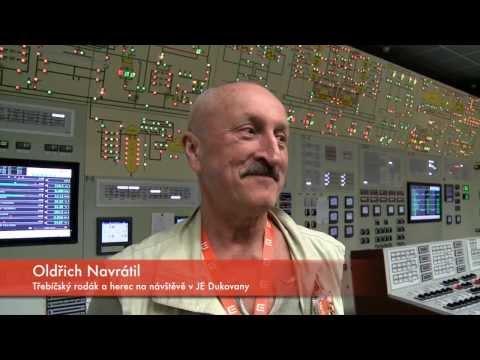Herec Oldřich Navrátil přijel, viděl a odstavil reaktor dukovanské elektrárny
