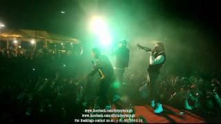 yo yo honey singh and mafia mundeer performing in noida @ tech mahindra live part-3