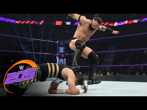 Neville vs. Mustafa Ali: WWE 205 Live, March 21, 2017