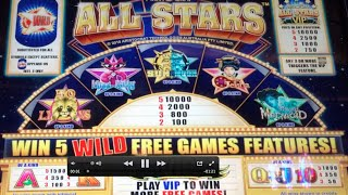 All Stars VIP Slot Machine Bonus-Miss Kitty