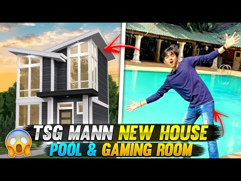 TSG Mann Bought New House on 10th Floor 😱 Mumbai Biggest Pool & Gaming Room #Vlog 1