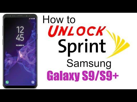 Samsung Galaxy S9 Plus Unlock Code