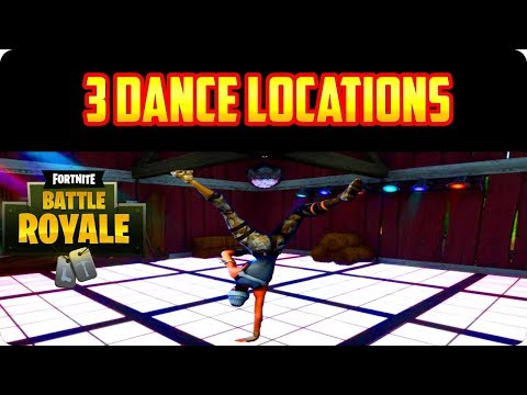 Fortnite: Dance On Different Dance Floors - 3 Locations Found Week 8