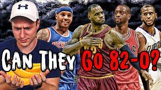Could The Banana Boat Squad Go 82-0 In Their PRIMES?