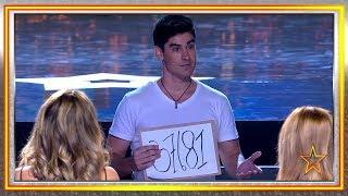 ¡Guau! Este MAGO mezcla la PSICOLOGÍA, MAGIA y SUGESTIÓN | Audiciones 8 | Got Talent España 2019