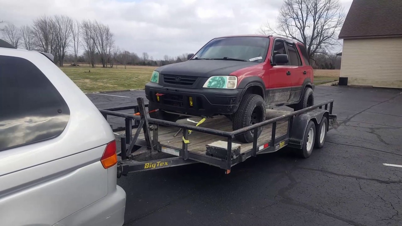 LIFTED 2000 Honda CRV - Mitch's new toy! - YouTube
