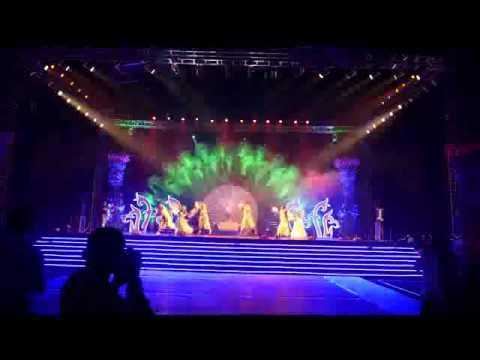 Best Stage Dance Performance With Effective Sound And Lighting System