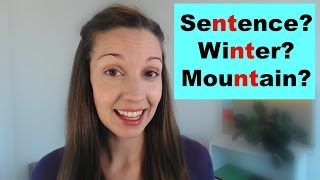 How To PronounceNTWords Advanced English Pronunciation Lesson