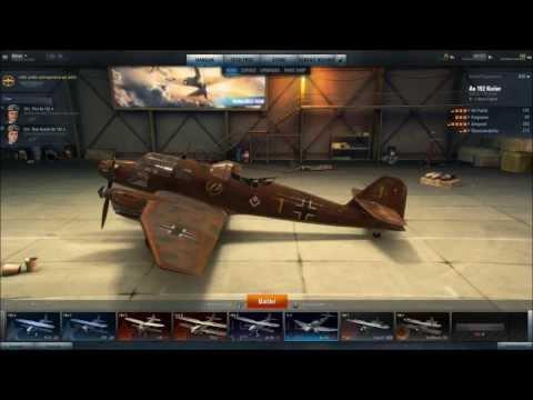 World of Warplanes - German Planes - Tier II - Ao 192 Kurier