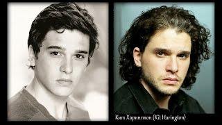 Игра престолов - актеры в детстве, молодости и спустя время | Кит Харингтон и др. (Game of Thrones)