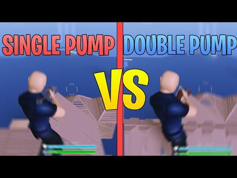DOUBLE PUMP VS SINGLE PUMP In Strucid... (Roblox)
