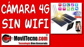 Cámaras De Vigilancia Sin Wifi Solares 4g Móvil Con Batería Sin Cables Moviltecno 791 Youtube