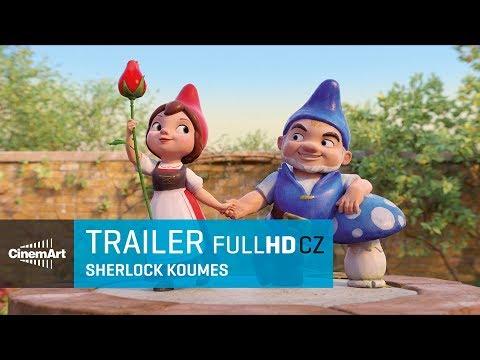 Sherlock Koumes / Sherlock Gnomes (2018) oficiální HD trailer [CZ DAB]