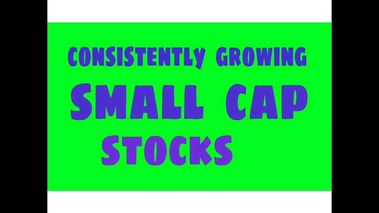 Consistently growing small cap stocks - YouTube