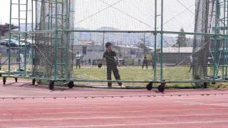2013年4月29日 枚方陸上競技場 男子円盤投げ(試投)
