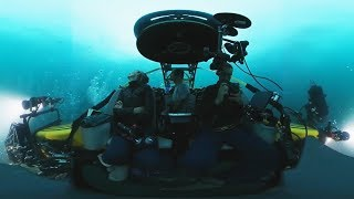 VIDEO 360: En busca del calamar gigante a 1000 metros de profundidad en el mar de Chile