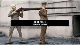 TEK ATIŞTA 90 KUŞ ÖLDÜREBİLEN TÜFEK!!! - PUNT GUN