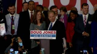 WATCH: AL Democratic Senate candidate Doug Jones speaks on election night by : PBS NewsHour