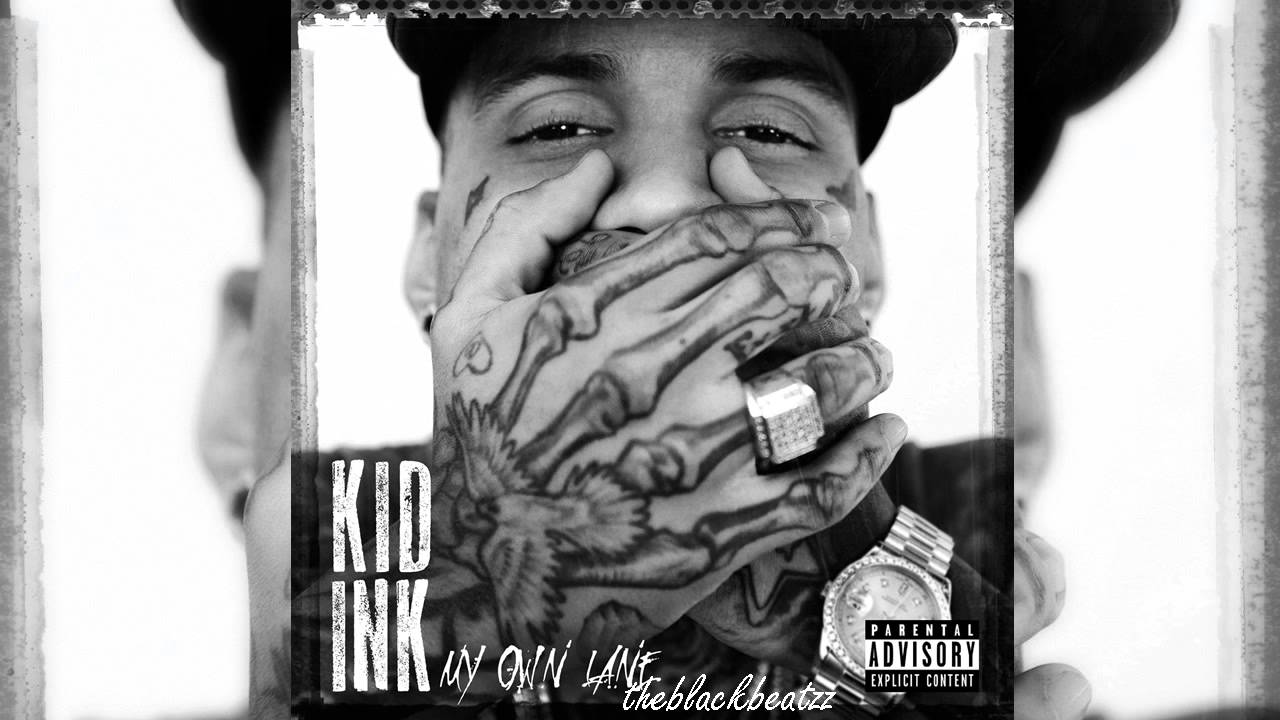 Rapper With Z Tattoed On His Face: KID INK (NEW HIP HOP JANUAR 2014