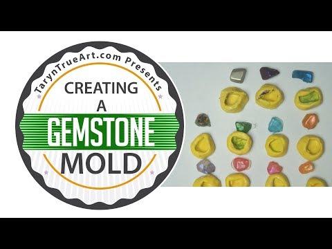 Create Resin Gemstones for DIY Geodes