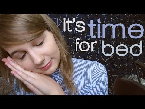 ASMR It's Time for Bed 💤  **Really Effective** 1 HOUR!