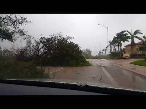 Hurricane Irma Aftermath in Homestead, FL