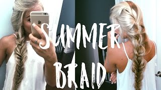♥ French Braid & Fishtail ♥ | Summer Hairstyle