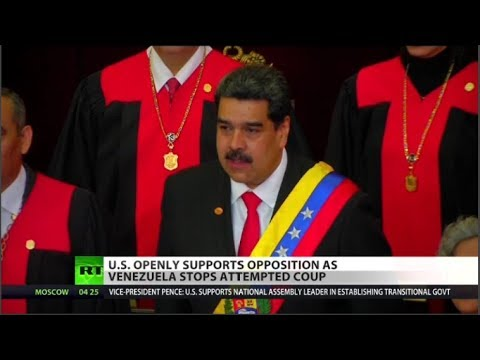 Failed Coup in Venezuela, US involved?