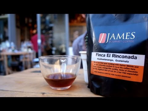 The Right Roast Episode 50: Tasting James gourmet with Anarchista Barista