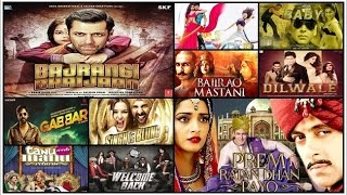 Top 10 Best Bollywood Movies of 2015 based on Box Office Collection 💰