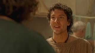 Jason finds an abandoned feast - Atlantis: Episode 11 - BBC One