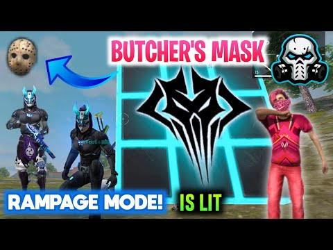 How To Get Butcher's Mask In FREEFIRE || Rampage Mode Full Details 🔥