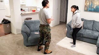 I'M JOINING THE ARMY PRANK!